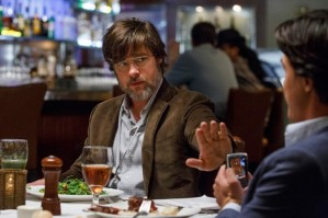 Left to right: Brad Pitt plays Ben Rickert and Finn Wittrock plays Jamie Shipley in The Big Short from Paramount Pictures and Regency Enterprises